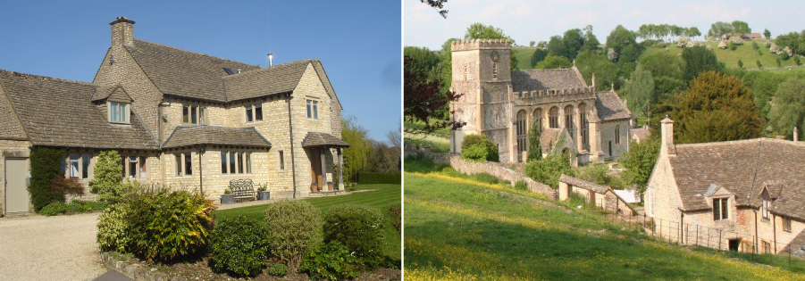 BampB In The Lovely Unspoilt Village Of Chedworth Cotswolds